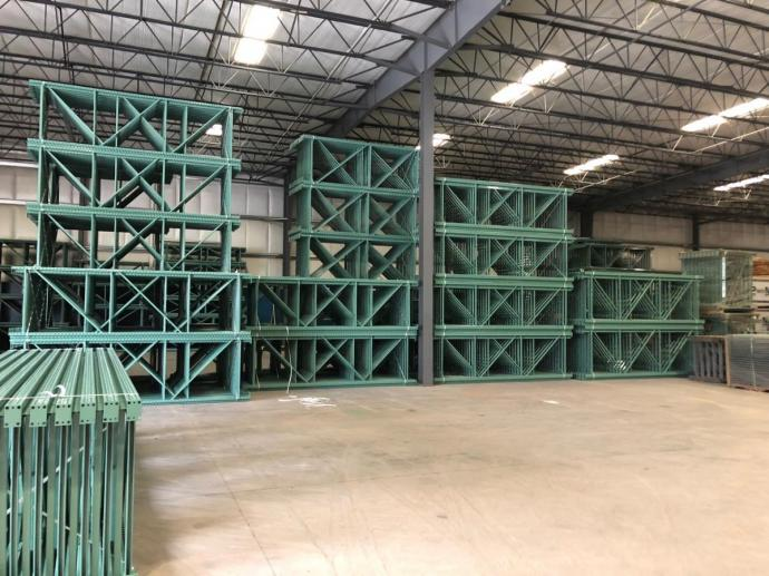 Factory Stock Pallet Racking, Ready to ship to you tommorrow