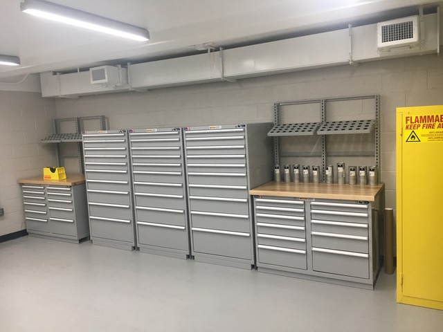 Storloc Storage systems with tooling holders