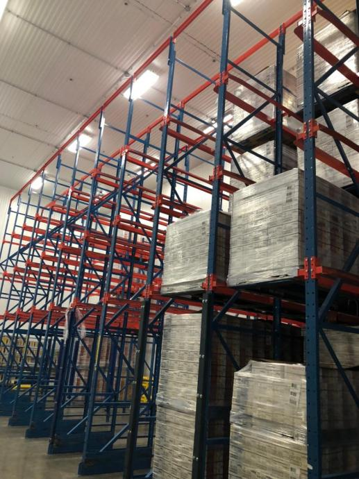 Structural Freezer Drive-in Rack Warehouse
